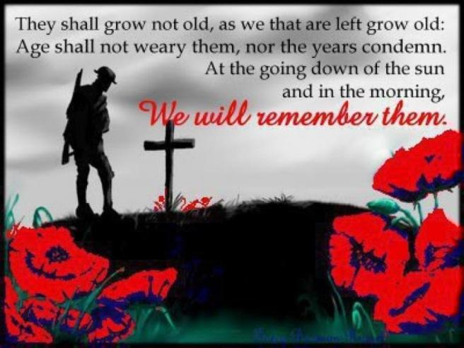 Anzac Day We Will Remember Them