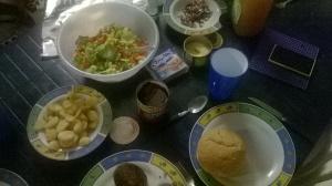 Aussie Burger Dinner