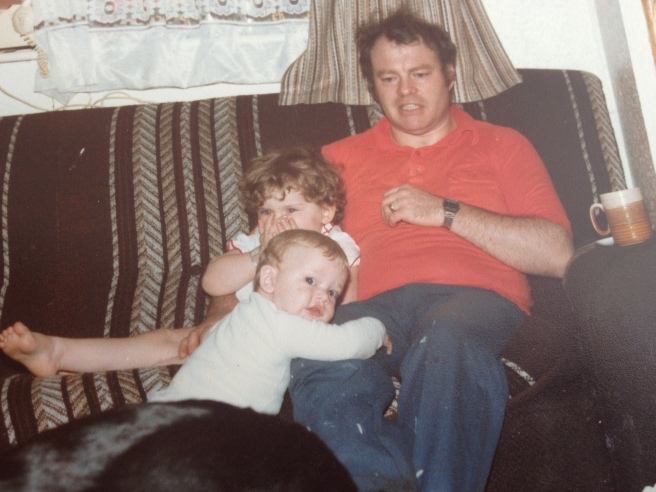 Me , my Brother and my Dad - not sure what I am surprised by!