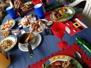 Christmas Dinner Pic